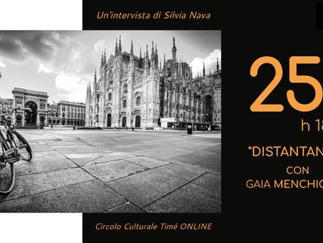 Riapre il circolo culturale Timé: il primo incontro online è con la fotografa Gaia Menchicchi