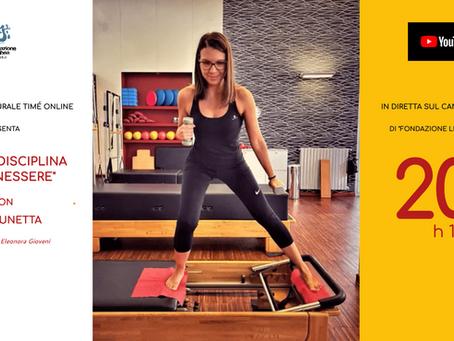 Pilates, una disciplina del benessere: il circolo Timé ospita l'insegnate Lara Lunetta