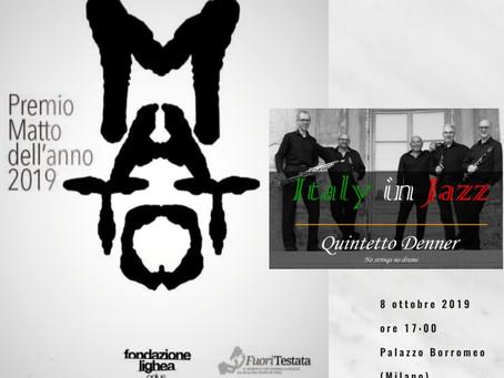 """Il Quintetto Denner per l'evento """"Il Matto dell'Anno 2019"""""""