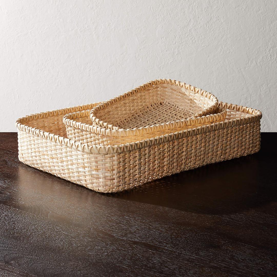 Den Woven Natural Baskets