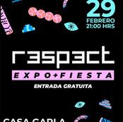 Flyer EXPO FIESTA R3SP3CT- CASA GARLA
