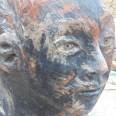 Escultura en Gres IV / Gres Sculpure IV