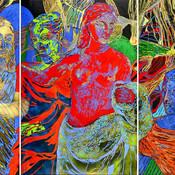 El Juicio de Paris (Tríptico) / Paris Judgement (Triptych)