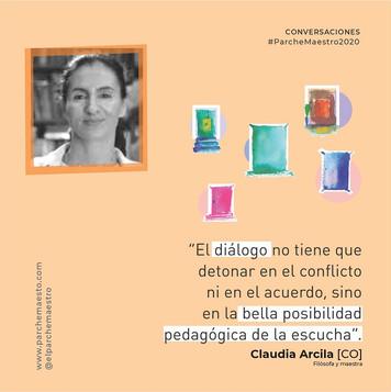 Conversaciones | Claudia Arcila