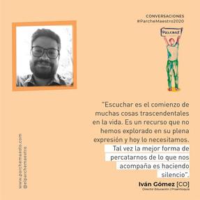 Conversaciones | Iván Gómez