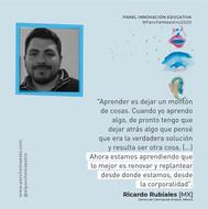 Panel Innovación educativa | Ricardo Rubiales