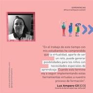Experiencias de maestras y maestros | Luz Amparo Gil