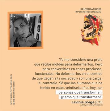 Conversaciones | Lavinia Sorge
