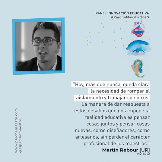 Panel Innovación educativa | Martín Rebour
