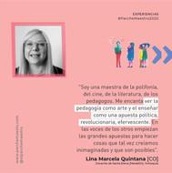 Experiencias de maestras y maestros | Lina Marcela Quintana