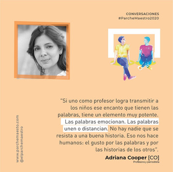 Conversaciones | Adriana Cooper