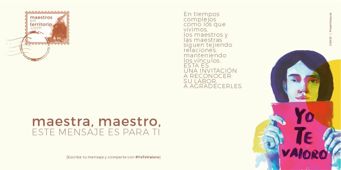 #YoTeValoro | maestrosenterritorio.com