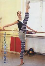 Dancer, Polina Semionova,ex-principal dancer of ABT, who reminded me of Marine.