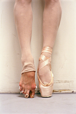 What Kate and Marine's feet and all the other dancers' feet look like.