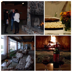 St. Michael's Fireplace Collage