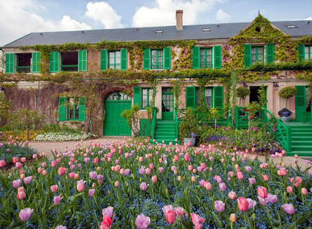 À Giverny, les jardins et la maison de Claude Monet ont rouvert leurs portes.