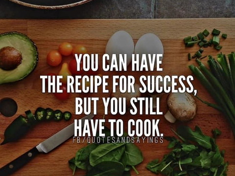 Cooking for Success... Have You Prepared Your Best Meal?