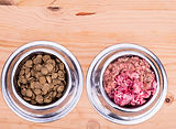 how to feed raw dog food