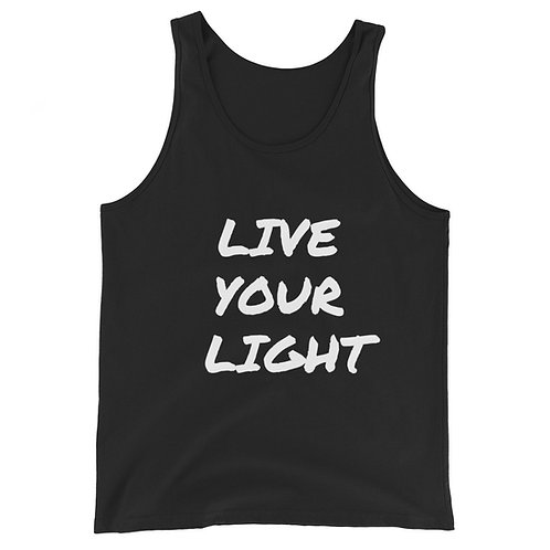 LIVE THE LIGHT Unisex Tank Top