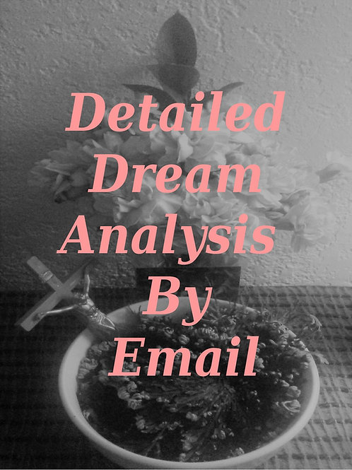 Dream Analysis Reading by Email