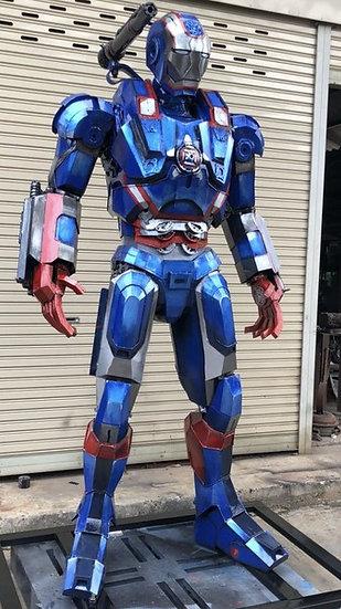 Iron Man blue 230cm