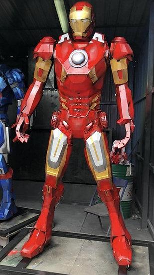 Iron Man red 230cm