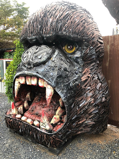 King Kong Head