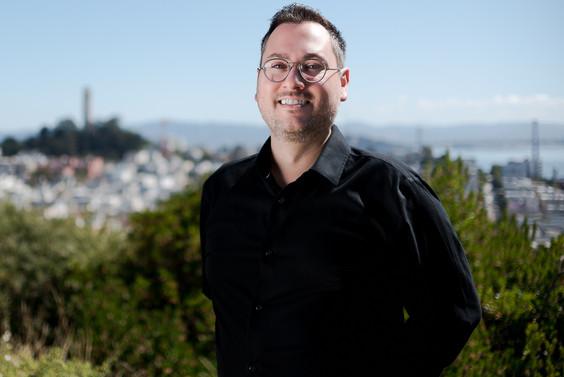 Corporate headhshot photography for men in San Francisco, California.