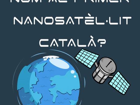 Vols posar nom al primer nanosatèl·lit català?