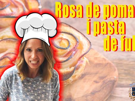 Rosa de poma i pasta de full!