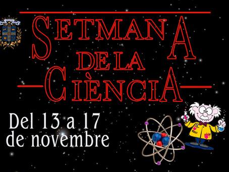 22a SETMANA DE LA CIÈNCIA