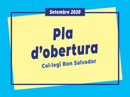 PLA D'OBERTURA *Setembre 2020*