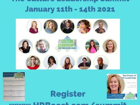 The Culture Leadership Summit #hrboost.com  Chicago, USA
