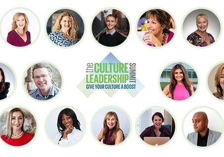 Culture Leadership Summit  (January 11th - 14th)