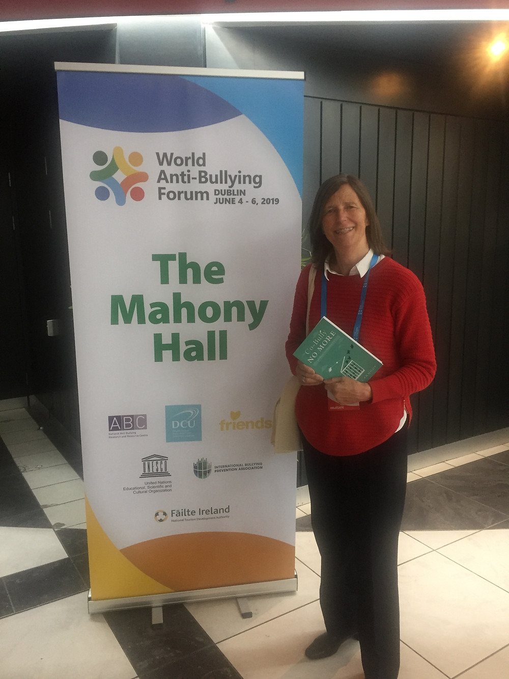 Professor Mona O'Moore founding director of the National Anti-Bullying Research and Resource Centre.