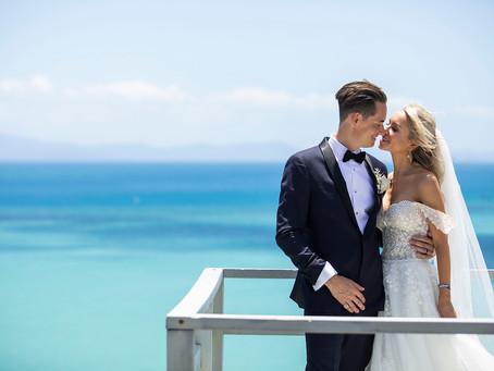 Rebecca and Mark's Hayman Island Wedding