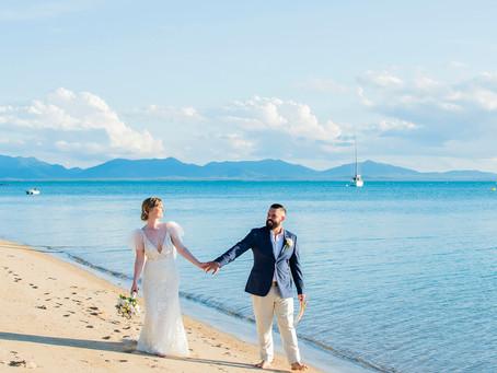 Sarah and Rob | Cape Gloucester Beach Resort Wedding