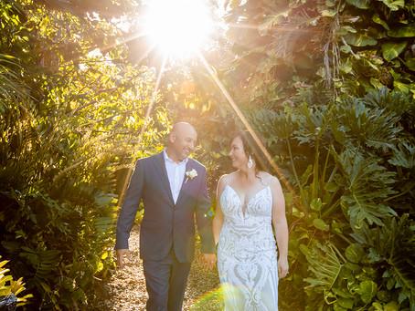 Kim and Mark's Villa Botanica Wedding