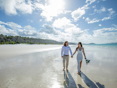 Fiona and Craig | Married at Whitehaven Beach