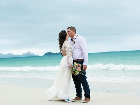 Amanda and Justin | Whitehaven Beach Wedding