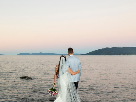 Erin and Michael | Villa Botanica Wedding