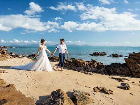 Kelly and Travis | Hideaway Bay Beach Wedding