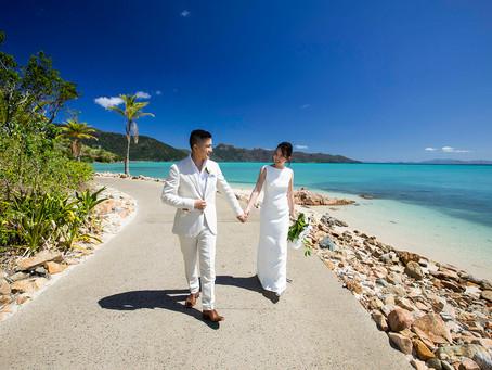 Emily and Yifan's Wedding at Hayman Island