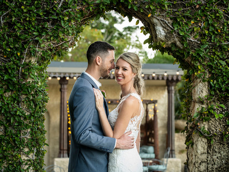 Lisa and Daniel  |  Villa Botanica