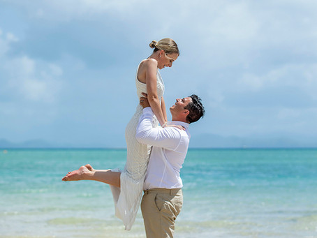 Cassandra and Matt's Intimate Wedding Day at Hayman Island