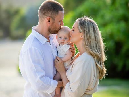 Lydia and Zac - Family Portrait