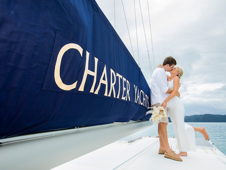 Cassie and Colin's Yaminda Charter Yacht Wedding