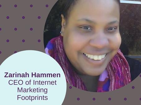 Zarinah Hameen, CEO, Internet Marketing Footprints