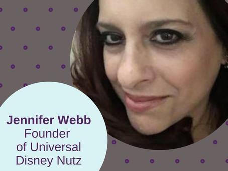 Jennifer Webb founder of Universal Disney Nutz