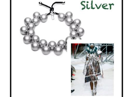Silver e Giallo: Tendenze colori autunno inverno 2018/2019